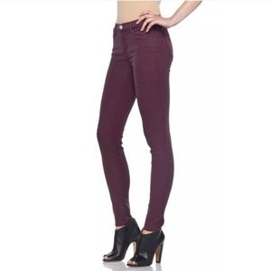 J Brand Women's Size 28 Corduroy Skinny Lavish